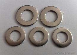 Large Diameter Stainless Steel Flat Washers / Fender Washers / Spacer Washers Round Hole