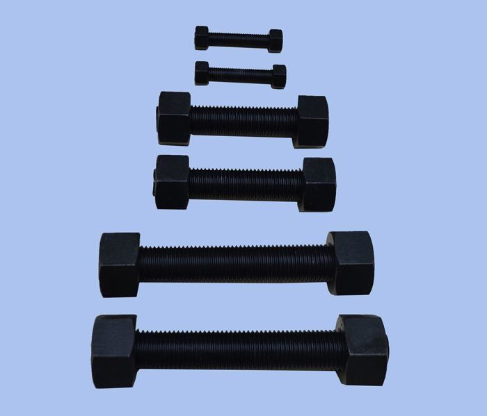 Din 933 Fully Threaded Hex Bolts Grade 8.8 10.9 For Building Industry Machinery